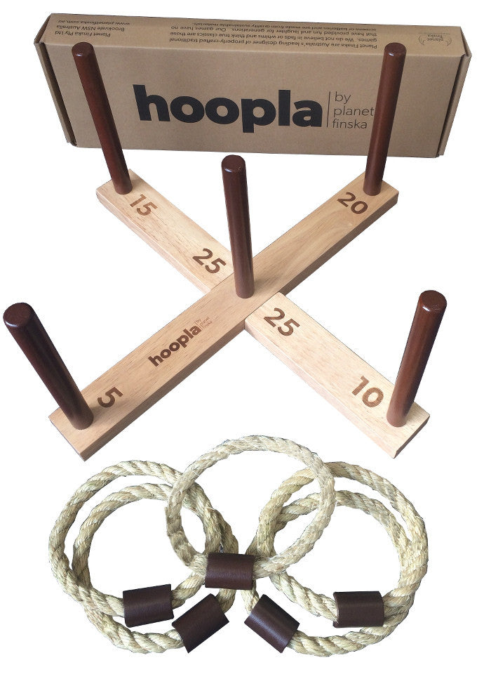 Wooden Hoopla Game - Earth Toys