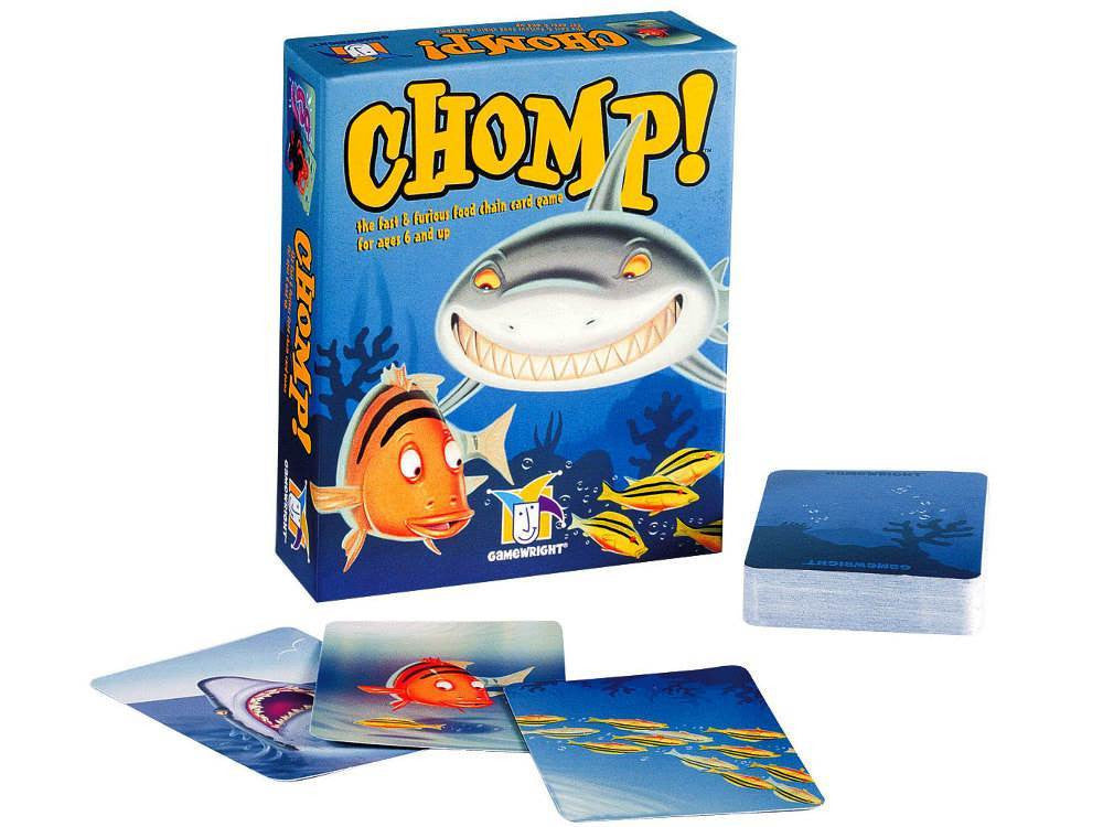 CHOMP Card Game - Earth Toys
