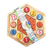 Clock Puzzle - Earth Toys - 2