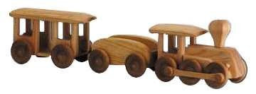 Debresk Big Wooden Train - Earth Toys