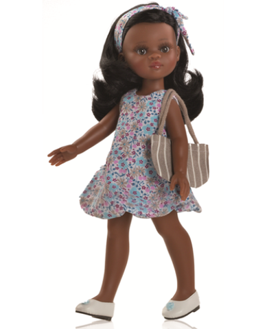 Paola Reina Doll - Nora - Floral Dress