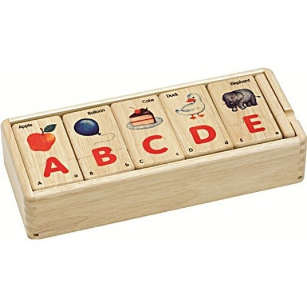 Jigsaw Alphabet Puzzle - Earth Toys - 1