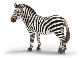 Schleich - Zebra female - Earth Toys