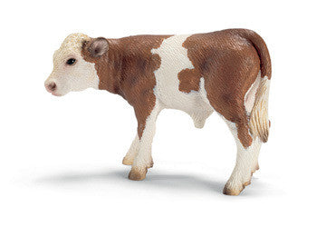Schleich - Fleckvieh calf - Earth Toys