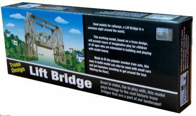 Lift Bridge Wooden Kit - Earth Toys - 1