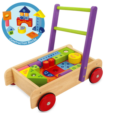 Deluxe Blocks Walker - 52pc