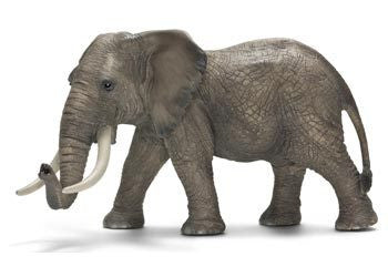 Schleich - African Elephant Male - Earth Toys
