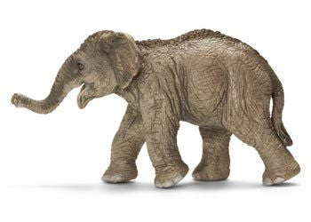 Schleich - Asian Elephant Calf - Earth Toys