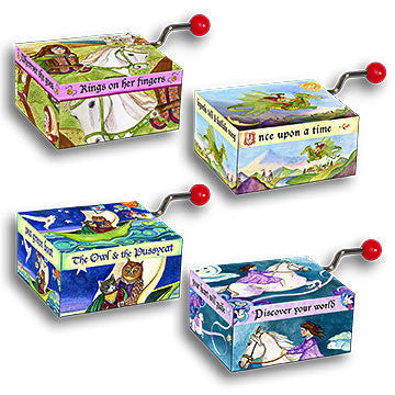 Mini Music Boxes Enchantments - Earth Toys