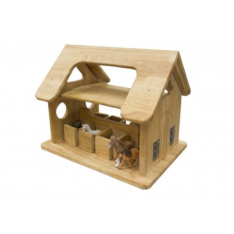 Handmade Wooden Stable