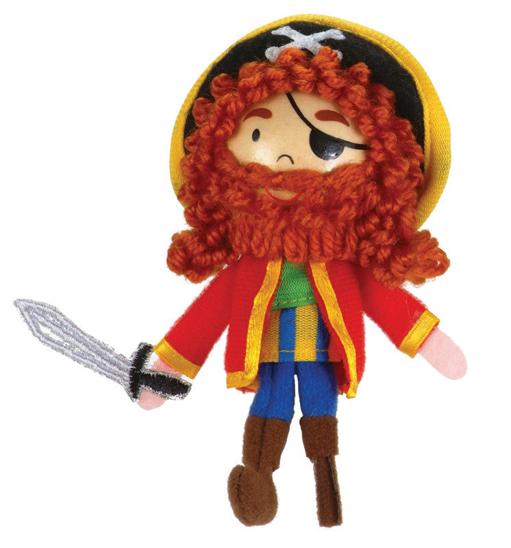Fiesta Crafts - Long John Silver Finger Puppet - Earth Toys