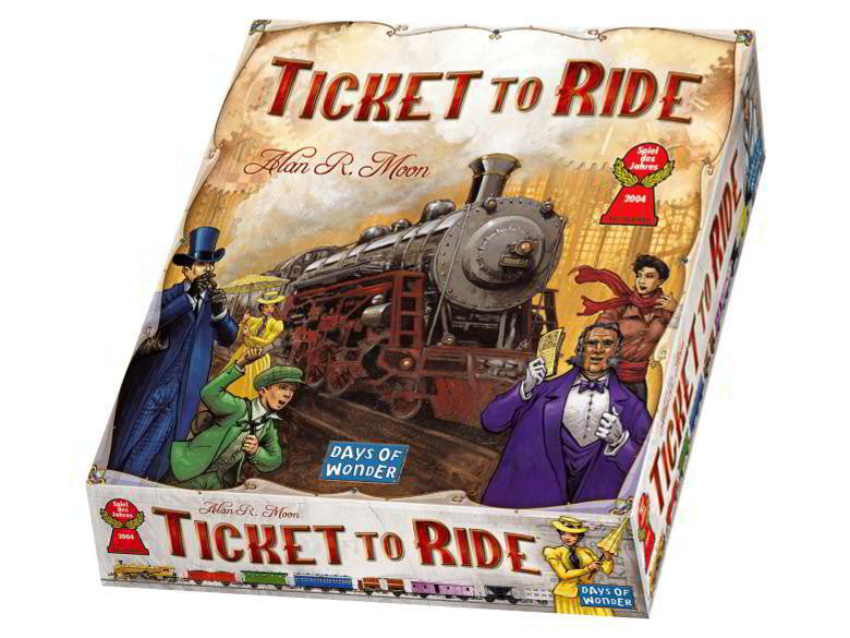 Ticket to Ride Game - Earth Toys
