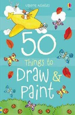 50 Things to Draw and Paint - Earth Toys