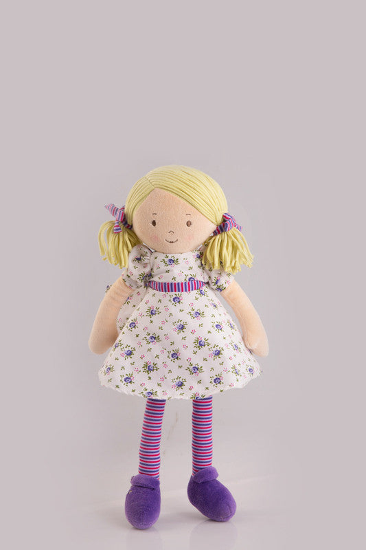 Bonnika Rag Doll Peggy - Earth Toys