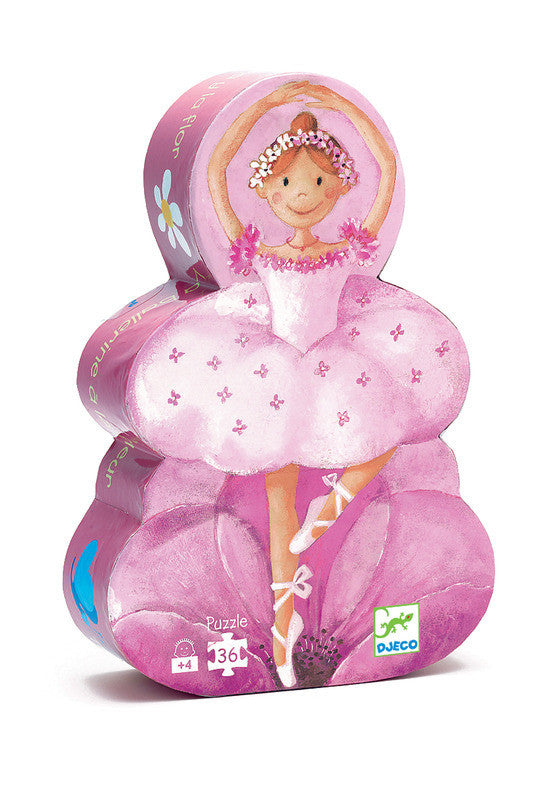 The Ballerina with the Flower 36pc Puzzle - Earth Toys - 1