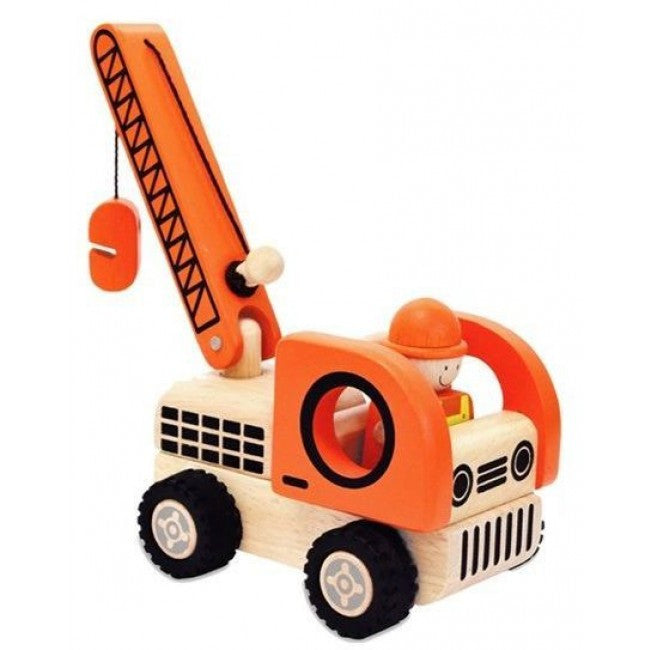 IM Toy Wooden Construction Vehicles - Earth Toys - 2