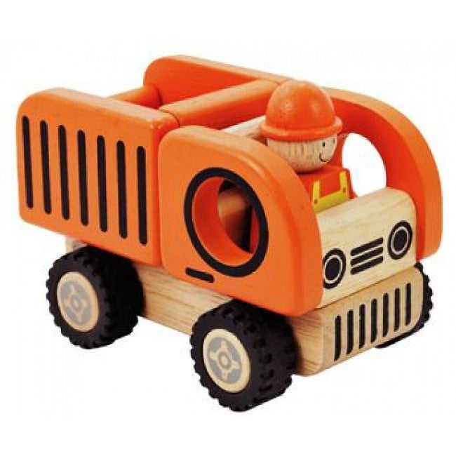 IM Toy Wooden Construction Vehicles - Earth Toys - 3