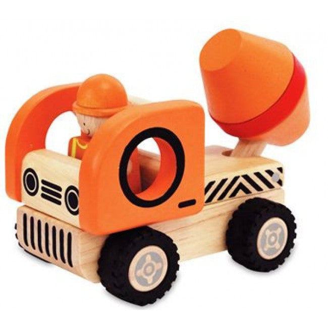 IM Toy Wooden Construction Vehicles - Earth Toys - 4