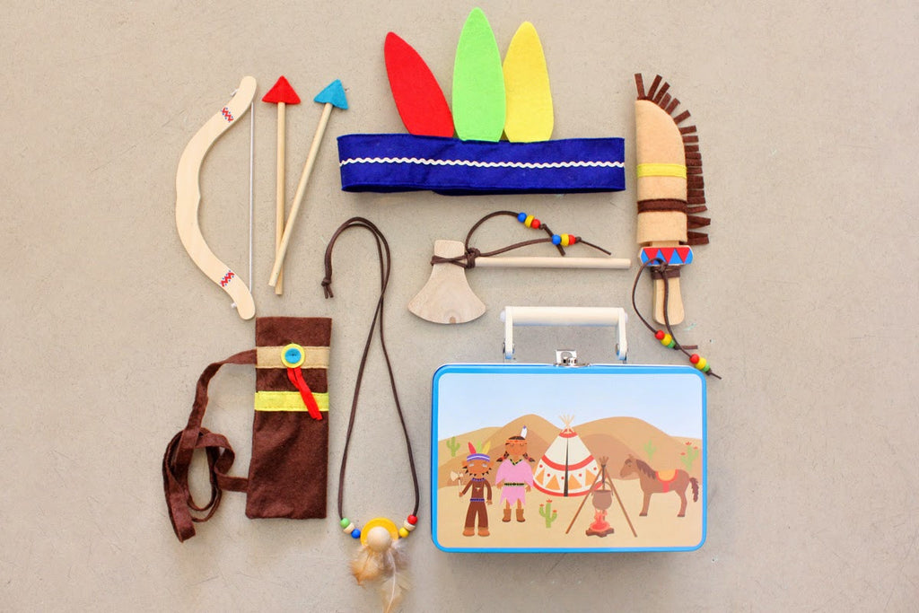 Indian Dress Up Set - Earth Toys - 2