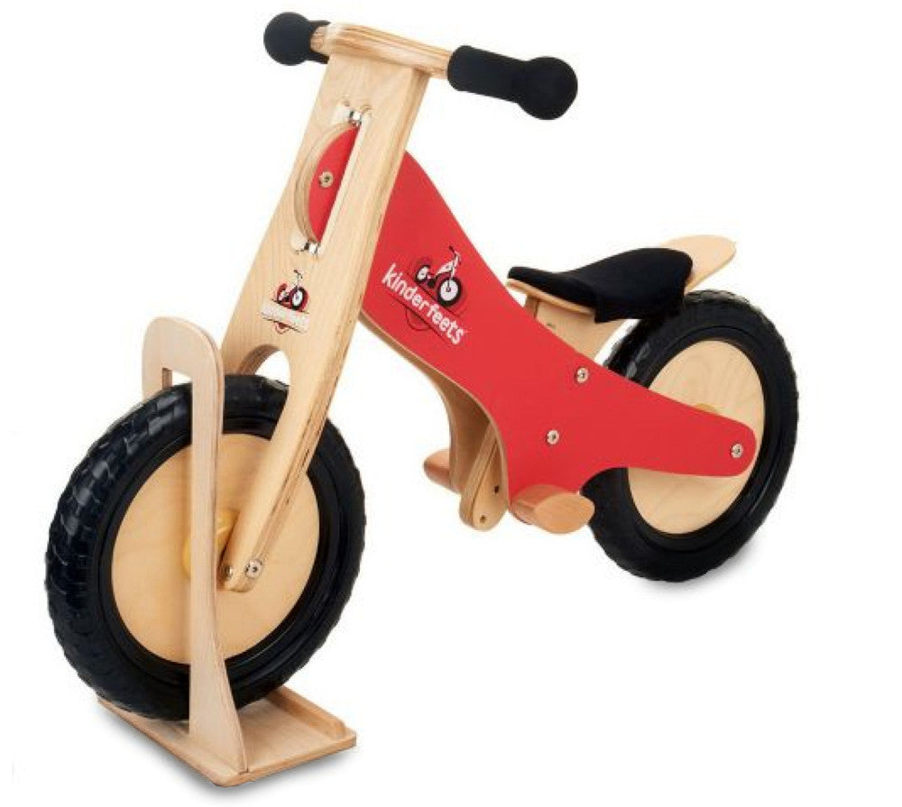 Kinderfeet Wooden Balance Bike - Earth Toys - 1
