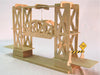 Lift Bridge Wooden Kit - Earth Toys - 2
