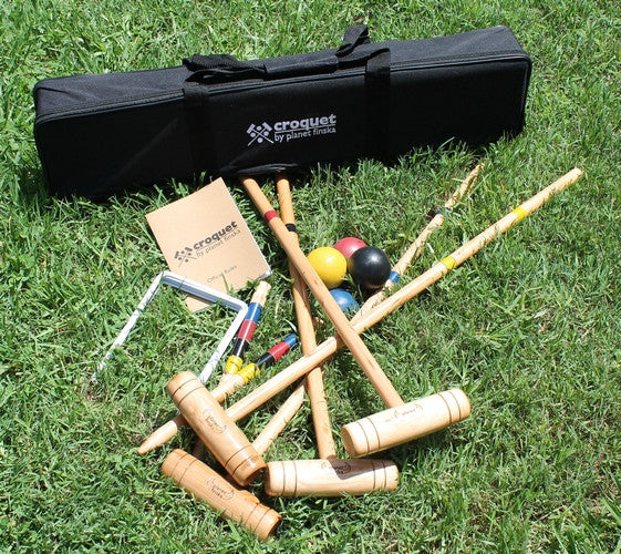 Family Croquet ( 4 Mallet ) - Earth Toys - 2