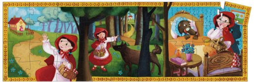 Little Red Riding Hood 36p Puzzle - Earth Toys - 2
