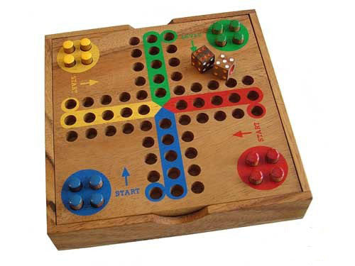 Wooden Ludo - Earth Toys