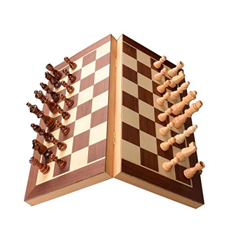 Chess Set - Wooden Magnetic