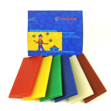 Stockmar Modelling Beeswax Pack Assorted Colours