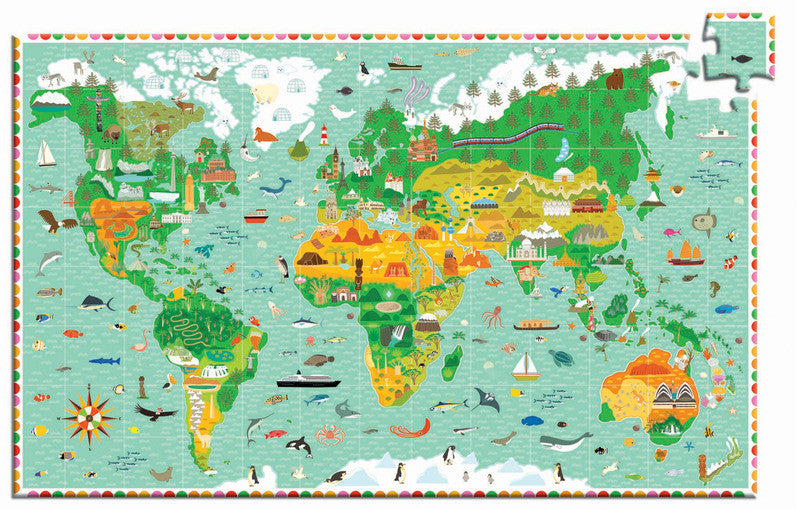 Puzzle Observation - Monument of World 200pc Puzzle - Earth Toys - 2