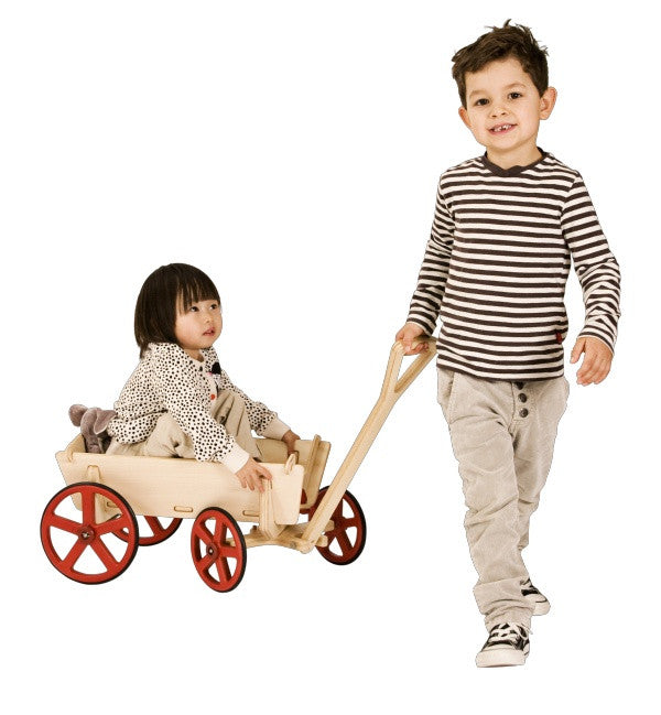 Moover Wooden Prairie Wagon - Earth Toys - 3