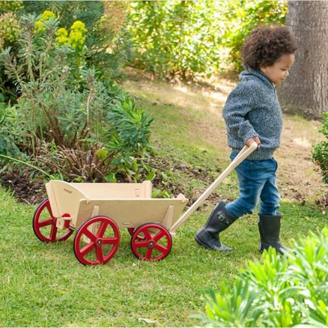 Moover Wooden Prairie Wagon - Earth Toys - 2