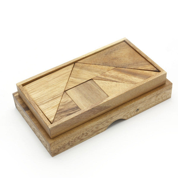 Tangrams wooden - Earth Toys