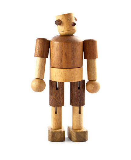 Wooden Robot - Earth Toys - 4
