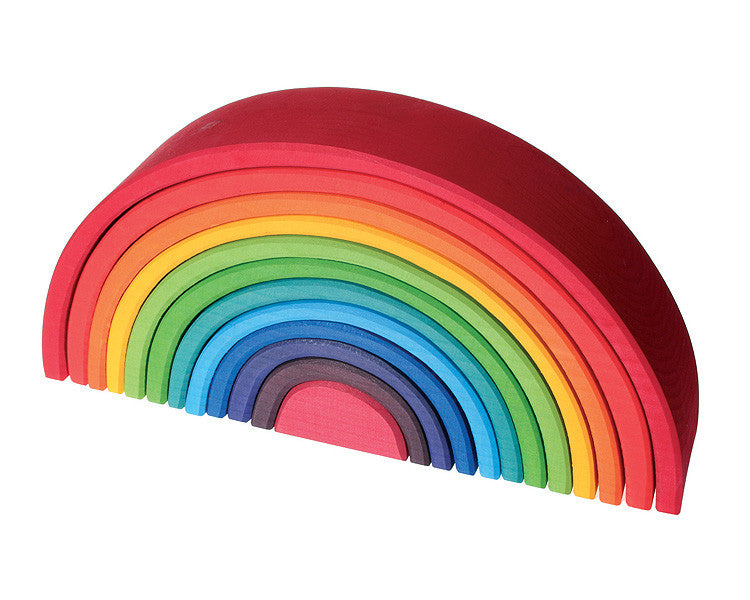 Wooden Stacking Rainbow - Earth Toys - 1