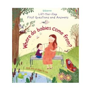 Lift-The-Flap - Where Do Babies Come From? BOARD Book