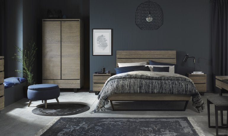 How To Jump on the Industrial Bedroom Trend