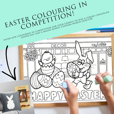 Kids Colouring Competition, Family Easter Activities