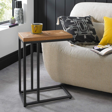 Bentley Designs Indus Rustic Oak Sofa Table| Taylors on the High Street