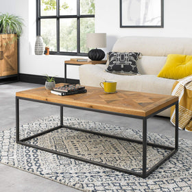 Bentley Designs Indus Rustic Oak Coffee Table | Taylors on the High Street