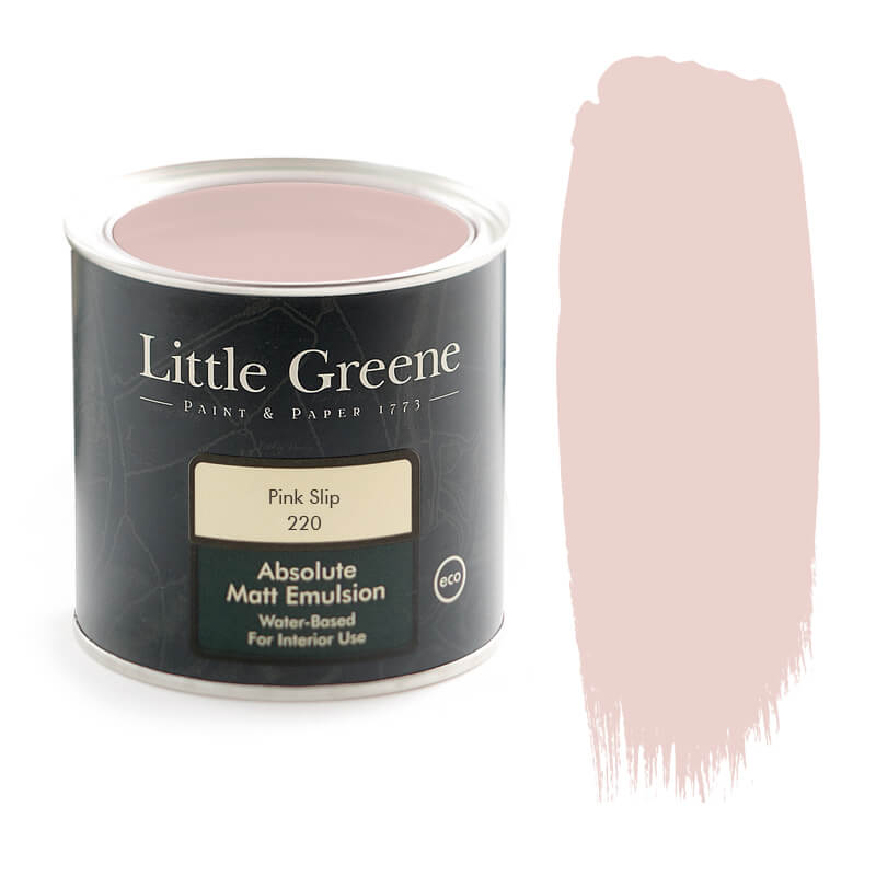 Little Greene Paint - 220 - Pink Slip