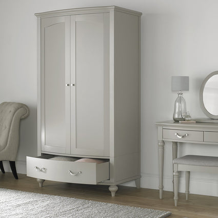 Montreux Urban Grey Double Wardrobe