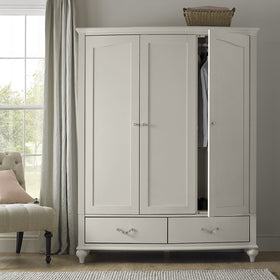 Montreux Urban Grey Triple Wardrobe