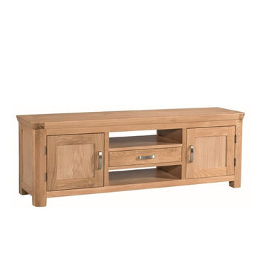 Darrach Oak Wide TV Unit