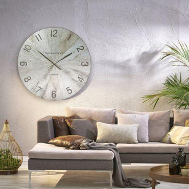 Wharf Pickled Oak Oversized Wall Clock
