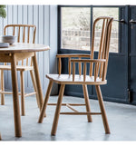 Wycombe Carver Dining Chair (Pair)