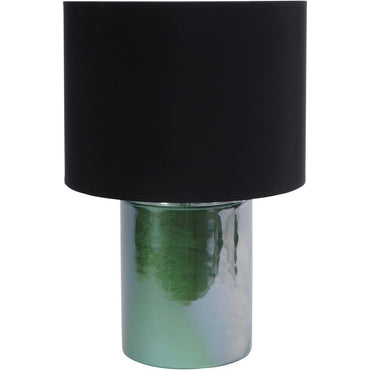 Green Cylindrical Table Lamp