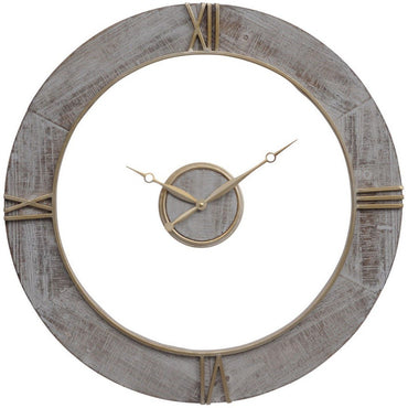 The Libra Company Grey Floating Wall Clock | Taylors on the High Street