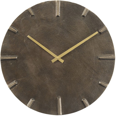 Slate Effect Wall Clock
